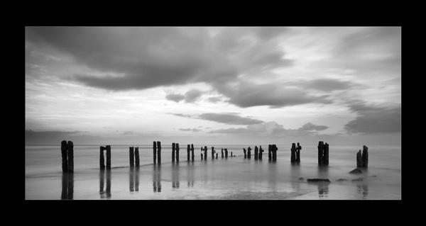Sandsend Seascape by wharmby