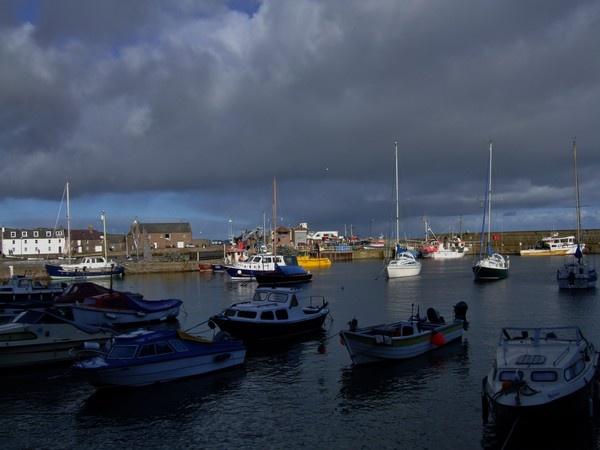 Stonehaven Harbour Aberdeenshire by betttynoir