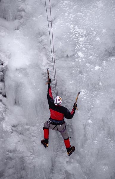 Ice Climbing by Zydeco_Joe
