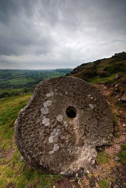 curbar millstone by antbow