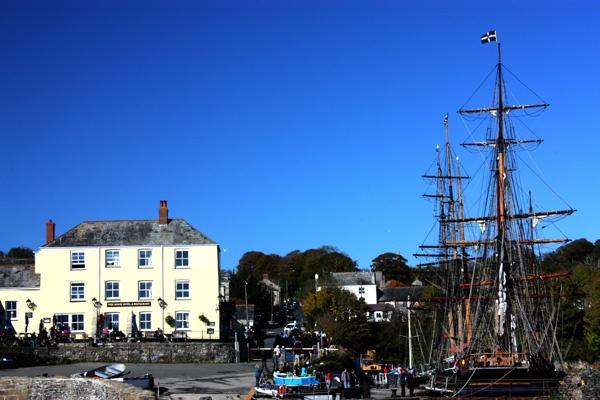 Charlestown Harbour,Cornwall by ladaman98
