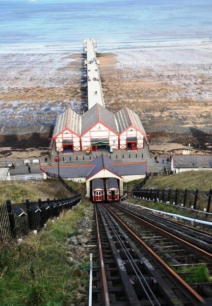 Saltburn Pier by chrissyste