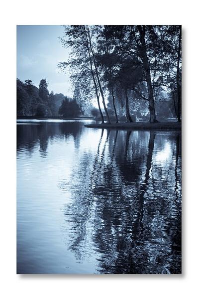 lakeside blue by blackbird