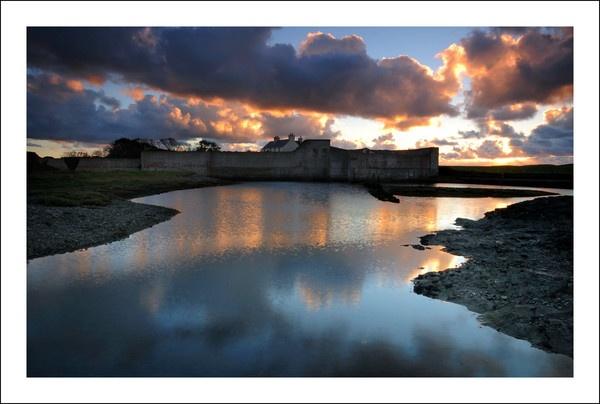 Bryn sunset by Alfoto