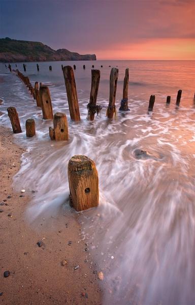 Sandsend Sunrise by oll1e