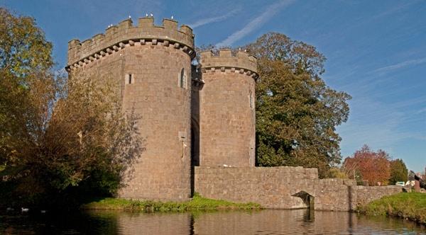 Whittington Castle by ABiggs