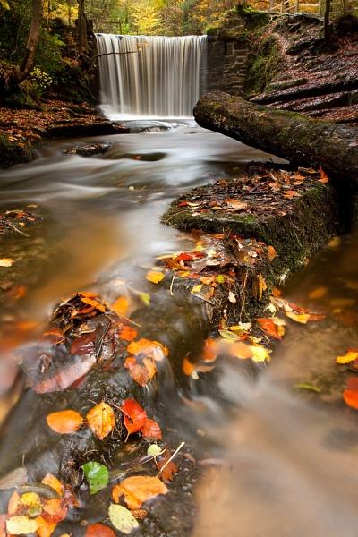 Clywedog Falls by ChrisStyles
