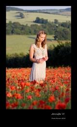Jennifer & Poppies VI