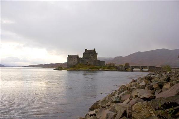 Eillen Donan Castle by Campbell