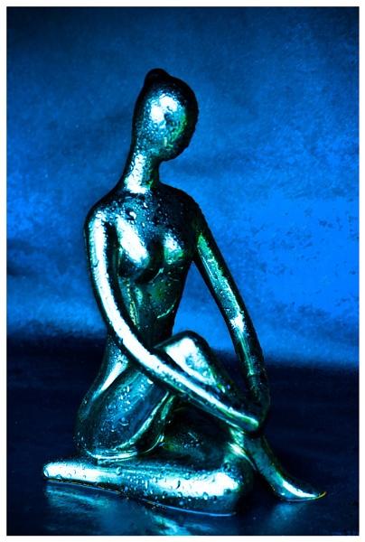 Blue Statue by JackAllTog