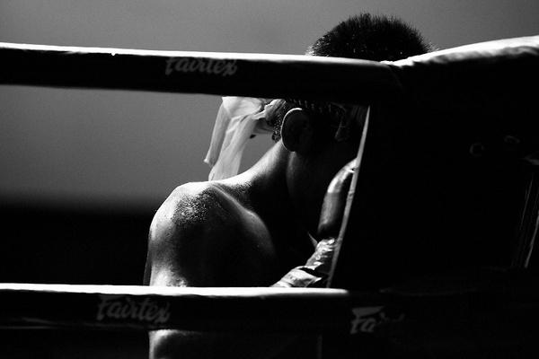 thai boxer by tomaszchrulski