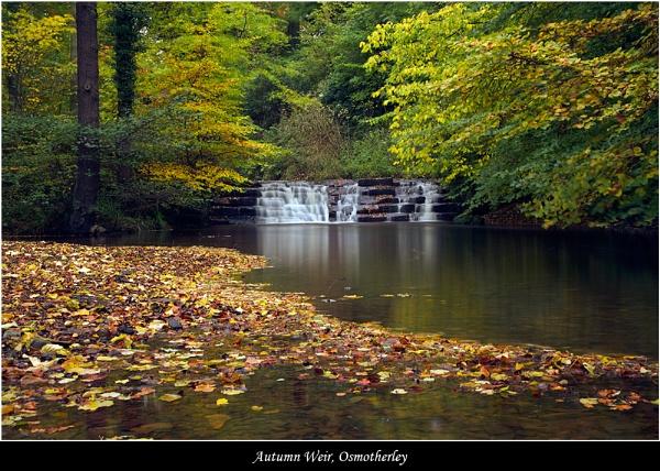 Autumn Weir by DaveMead