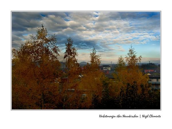 Herbstmorgen über Neunkirchen by NigelClements