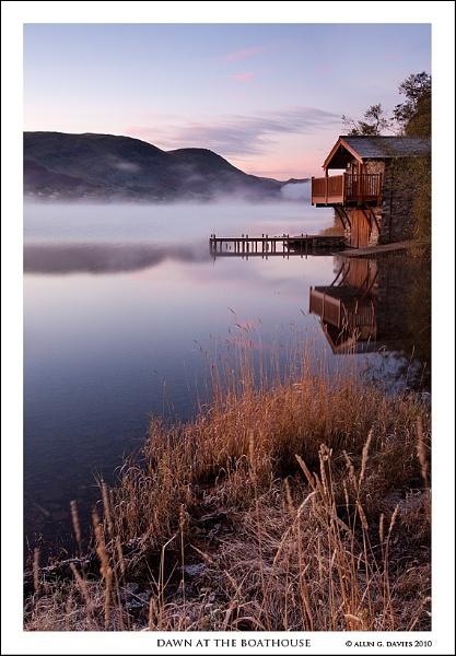 Dawn at that Boathouse- again by Tynnwrlluniau