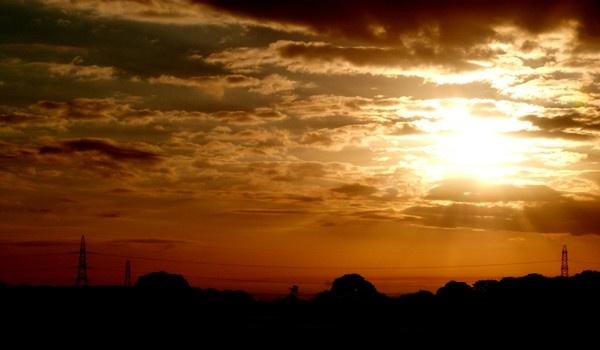 morning fields by Sam41
