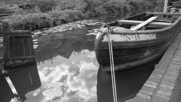 Coal Barge by Chorobin