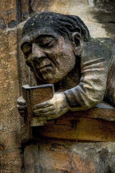 Gargoyles of Balliol by Sezz