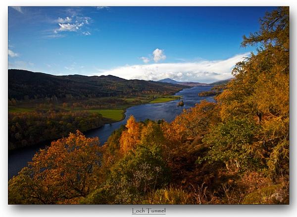Autumnal Tummel by GillyB
