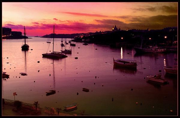 Malta Sunrise by Andrew_Hurley