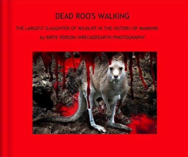 Book DEAD ROO,S WALKING by Birte
