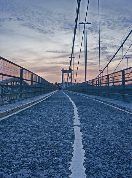 Sunset Bridge by DianeFifield