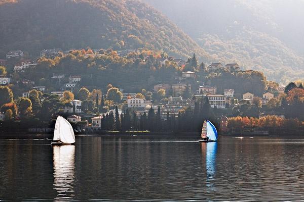 Sailing on Lake Como_01 by Phil_Bird
