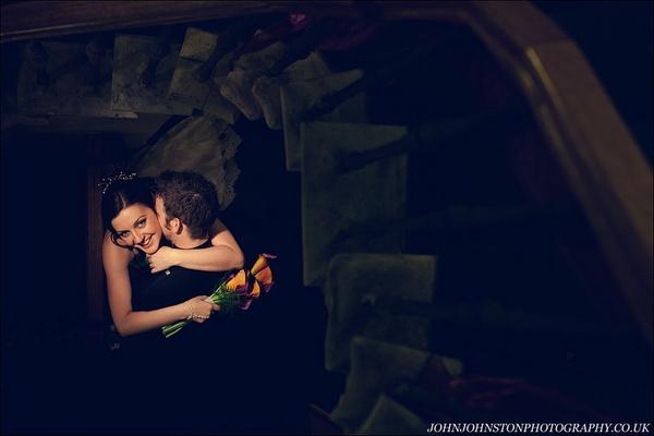 Bride & Groom by JohnJohnstonPhotography