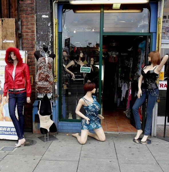 Sale\'s display by Chinga