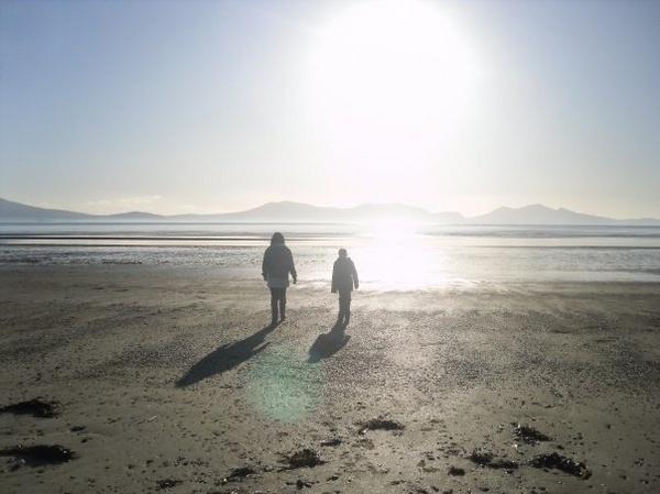 A Walk on Newborough Beach by BobbiDaisy