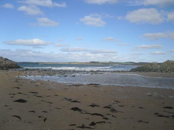 Calm Newborough Waves by BobbiDaisy