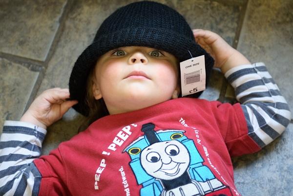 Boy in a hat by Wide-eyed