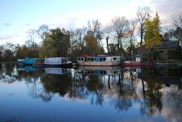 River Thames Reflection by avon