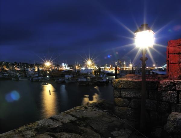 Newlyn By Night by hawk