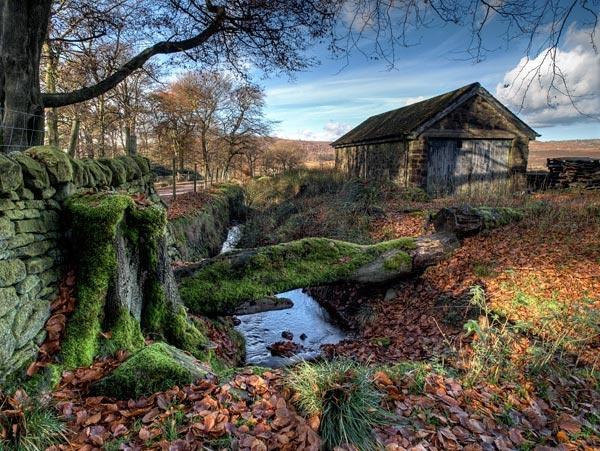Longshaw barn by g0wex