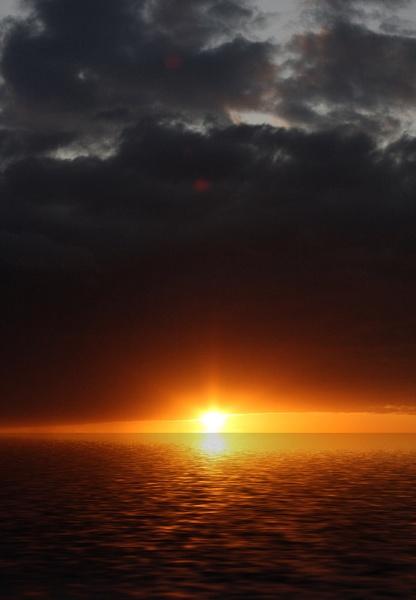 Exploding sun by NobbytheNobster