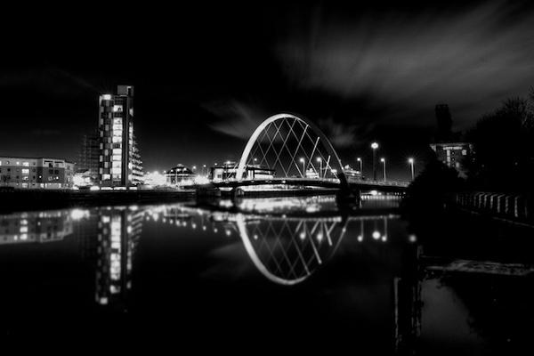 Glasgow Arc, AKA The Squinty Bridge by Carrera_c