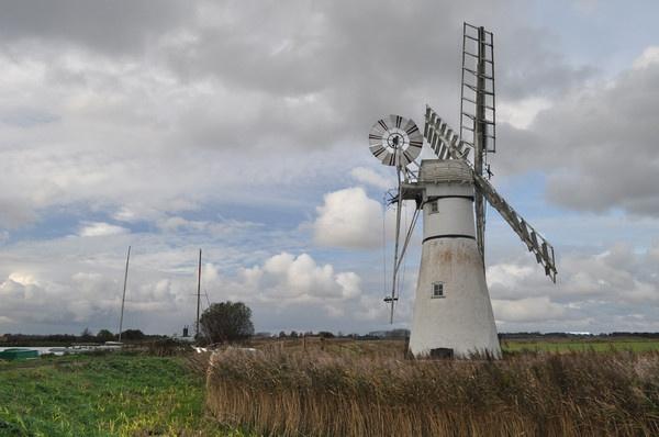 Thurne Mill by rolandb1952