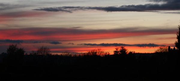 Sun set by bones316