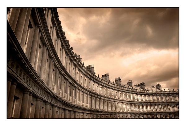 Royal Crescent Bath by mookey