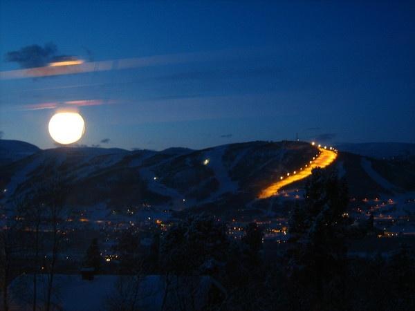 Big Moon of Norway by Anna_Barkovskaya