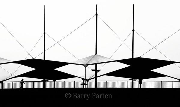 Man on Bridge by bazzra1714