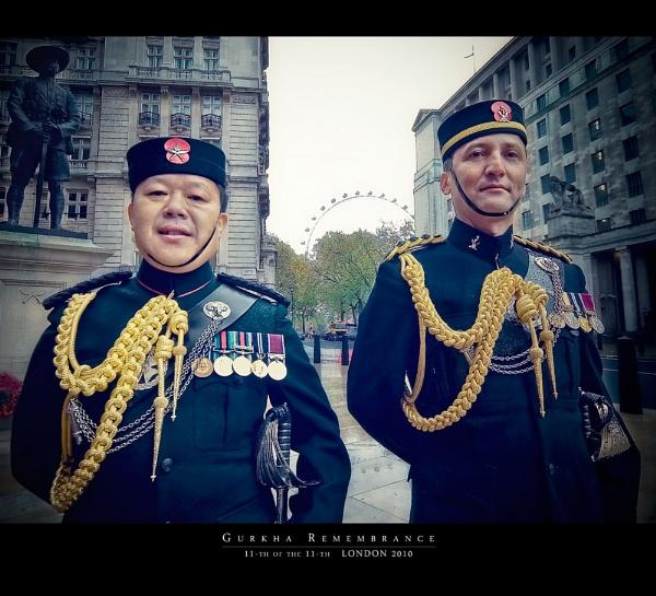 Gurkha Remembrance by ovi