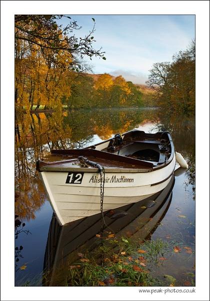 Autumnal Mooring by richardwheel