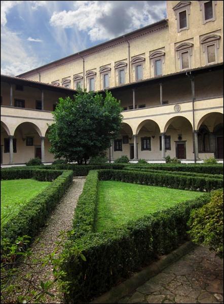 San Lorenzo cloisters by BeiK