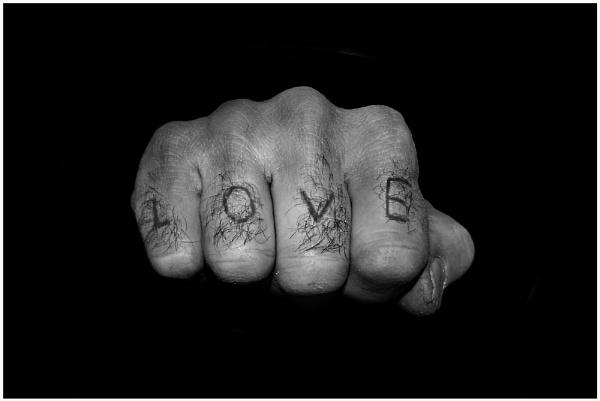 \'LOVE\' by bfgstew