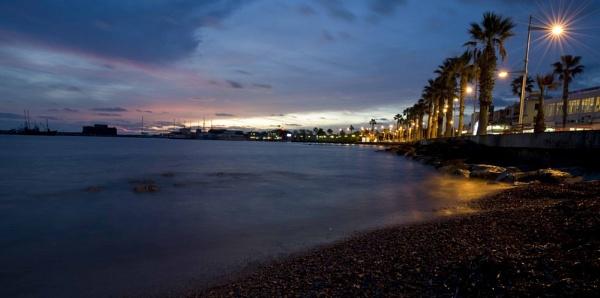 Paphos Seafront Sunset by chrishalton