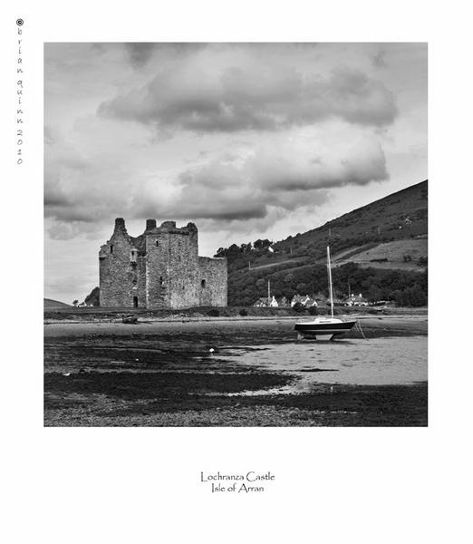Lochranza Castle by brianquinn