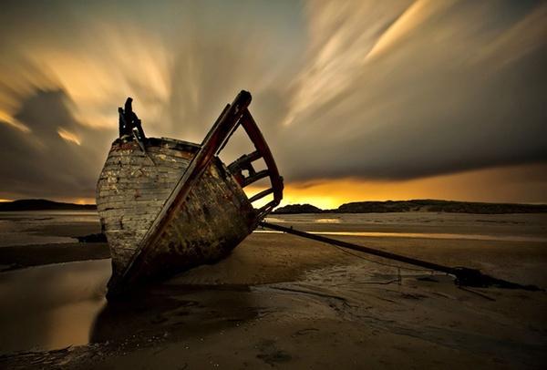 Bunbeg Shipwreck by bloke