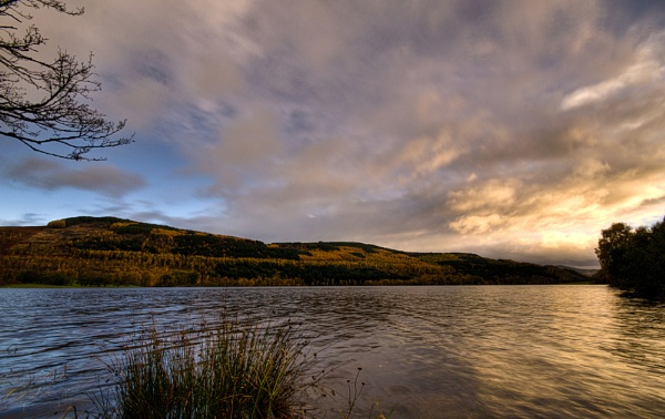 Dawn on the Loch by Scutter