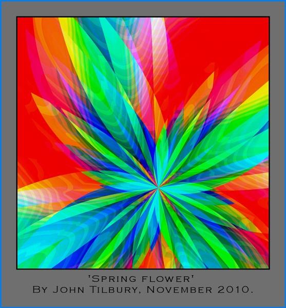 Pastel flora by Johnfromnotts
